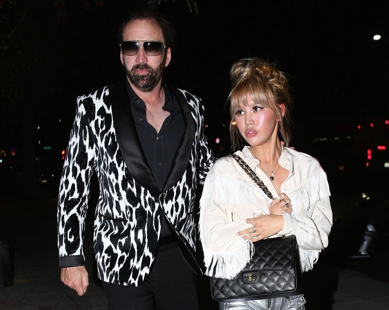 Nicolas Cage en Erika Koike.