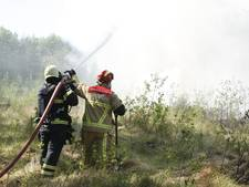 Grote natuurbrand in Bornerbroek onder controle