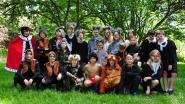 Leerlingen Klim-Op in musical Jungle Move