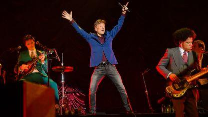 Bart Peeters viert zijn 60ste verjaardag op Clamotte Rock