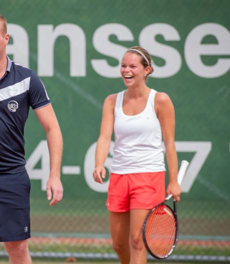 Dubbelslag voor tennisster Shanna de Cortie