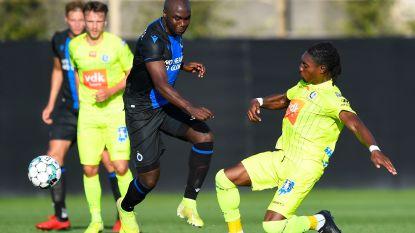Gent wint op bezoek bij Club Brugge na aangename oefenwedstrijd