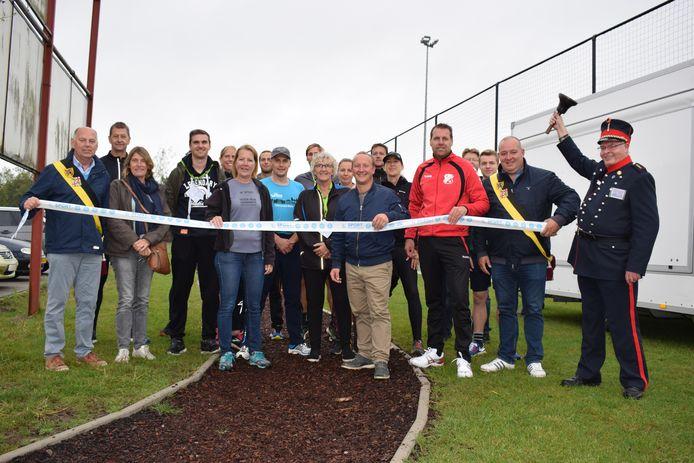 De Finse piste werd geopend.