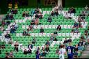 Publiek bij FC Groningen - Heracles zaterdagavond.