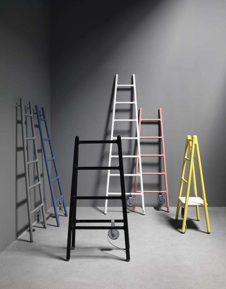 Een ladder als radiator
