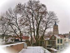 Sneeuw over Gorinchem betoverend, maar niet voor iedereen