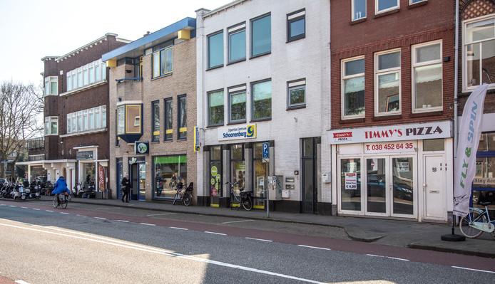 De vijfde Zwolse coffeeshop moet verrijzen aan de Vechtstraat.