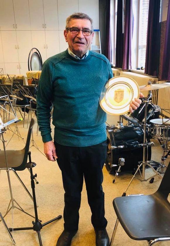 Achiel is al sinds 1949 muzikant.