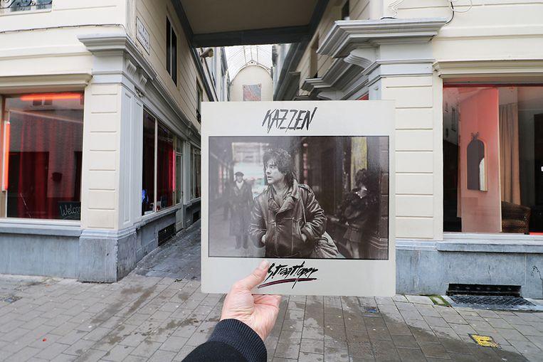 Het Glazen Straatje in Gent inspireerde Kazzen voor zijn LP 'Straatloper' uit 1987.