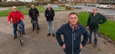 Rumoer in Hasselt om in- en uitrit bij fietspad: 'Mijn kleinkinderen moeten hier langs'