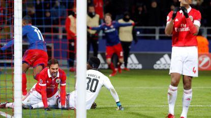 Vijf wedstrijden, vijf nederlagen: dieptepunt voor Benfica na nieuw verlies bij CSKA Moskou