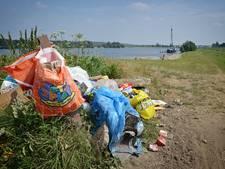 Controle op achtergebleven recreatierommel in Rijnwaarden