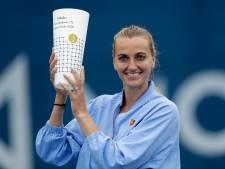 Petra Kvitova remporte une véritable exhibition organisée à Prague