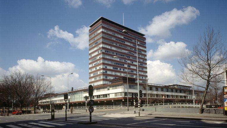 De Nederlandsche Bank vanaf de Stadhouderskade in 1984. Beeld Beeldarchief DNB