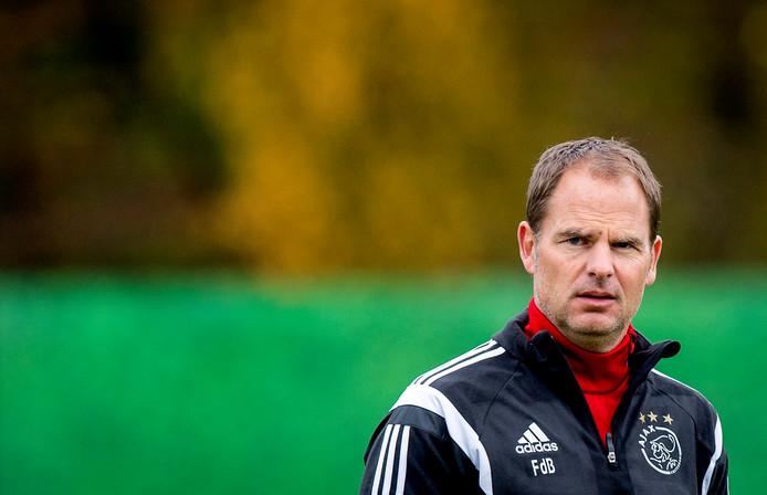 Frank de Boer bij Ajax
