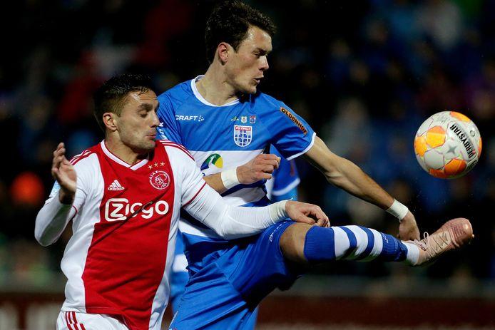 De kans is aanwezig dat Thomas Lam vrijdag opnieuw duels uitvecht met Ajacied Dusan Tadic. De verdediger van PEC Zwolle maakt mogelijk zijn eerste eredivisieminuten na een geslaagde rentree in het bekerduel met Hoek.