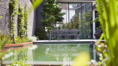 Unieke stadstuin in Gent verrast met prachtige zwemvijver