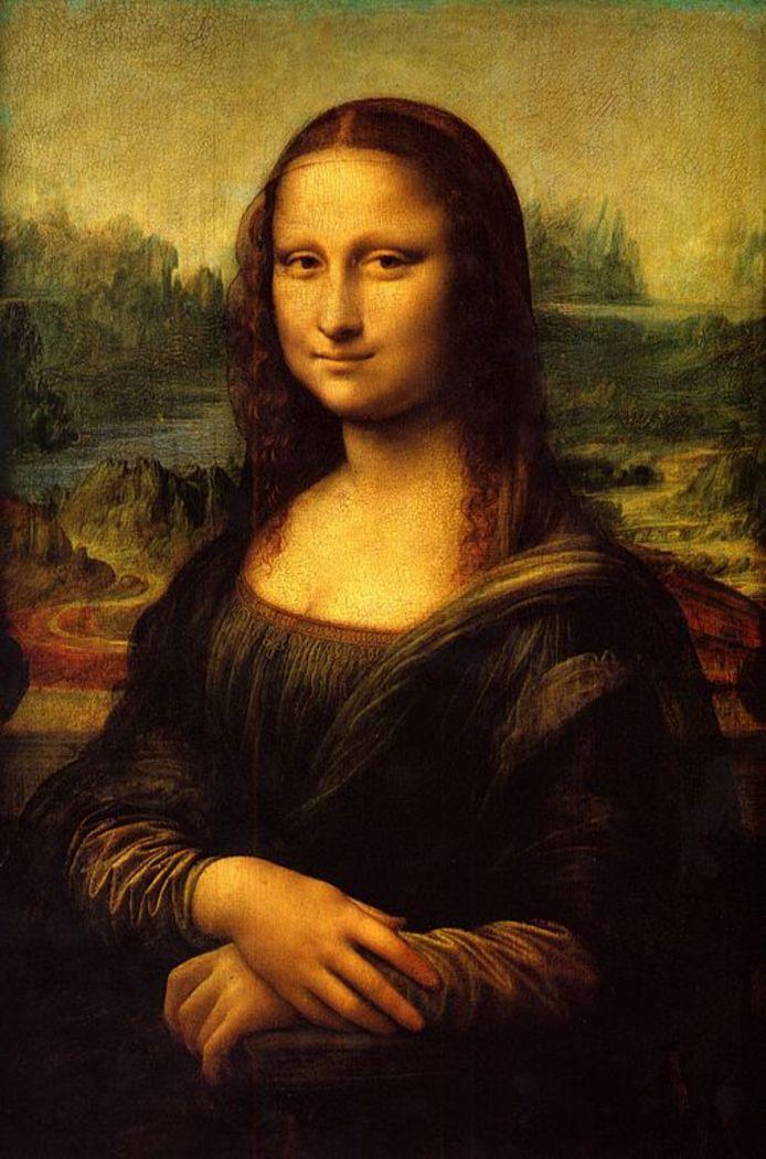 Het beroemde schilderij Mona Lisa.
