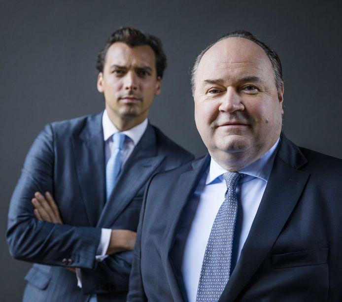 Forum voor Democratie-leider Thierry Baudet en Henk Otten in betere tijden