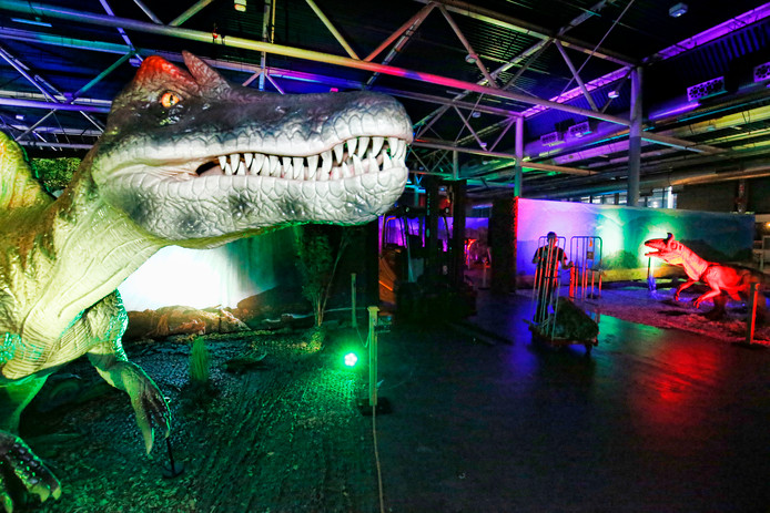 Expositie 'World of Dinos' in de Jaarbeurs.
