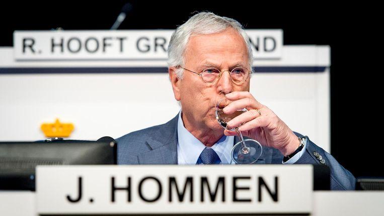 De aangifte richt zich onder meer tegen voormalig bestuursvoorzitter Jan Hommen Beeld anp