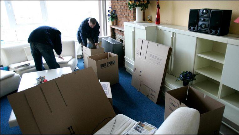 'Als een deurwaarder haastig te werk gaat, wordt dat vaak ervaren als een inbreuk op de persoonlijke levenssfeer.' Beeld anp