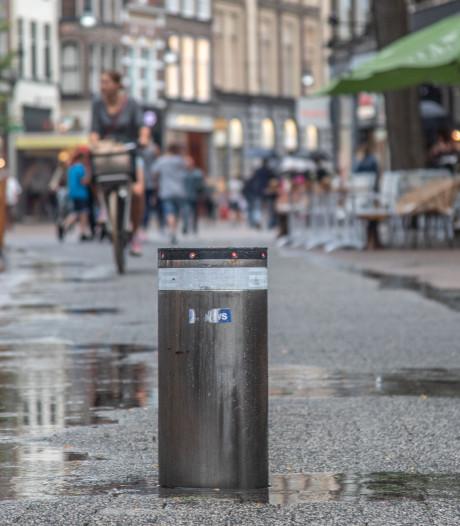 Poller-ellende Zwolle: 35 schadeclaims in 10 jaar tijd