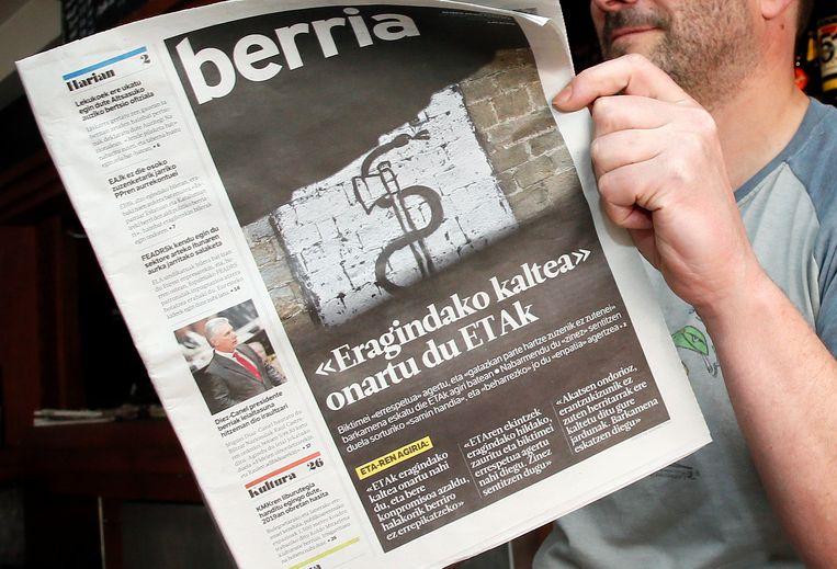 De ETA had vorige maand al een boodschap verspreid om vergiffenis te vragen aan haar slachtoffers.