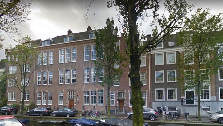 De Uylenburgh aan de Lauriergracht. Beeld Google Streetview