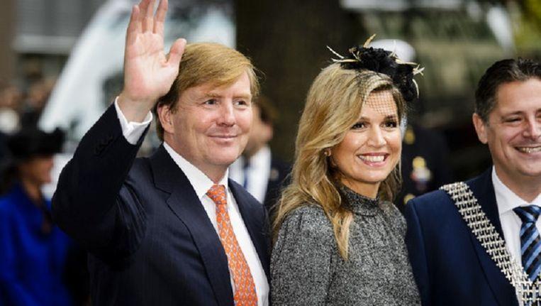 Koning Willem Alexander en koningin Máxima Beeld ANP