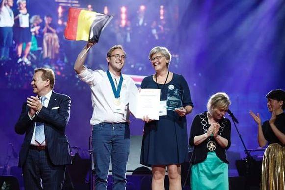 De Belgische delegatie wint!