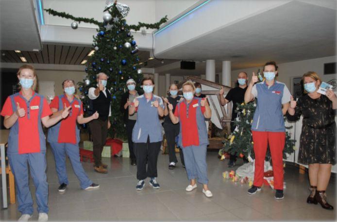 Het zorgpersoneel van Denderrust ontvangt ook 300 euro.