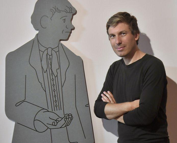 Toon Koehorst, grafisch ontwerper van de expositie.