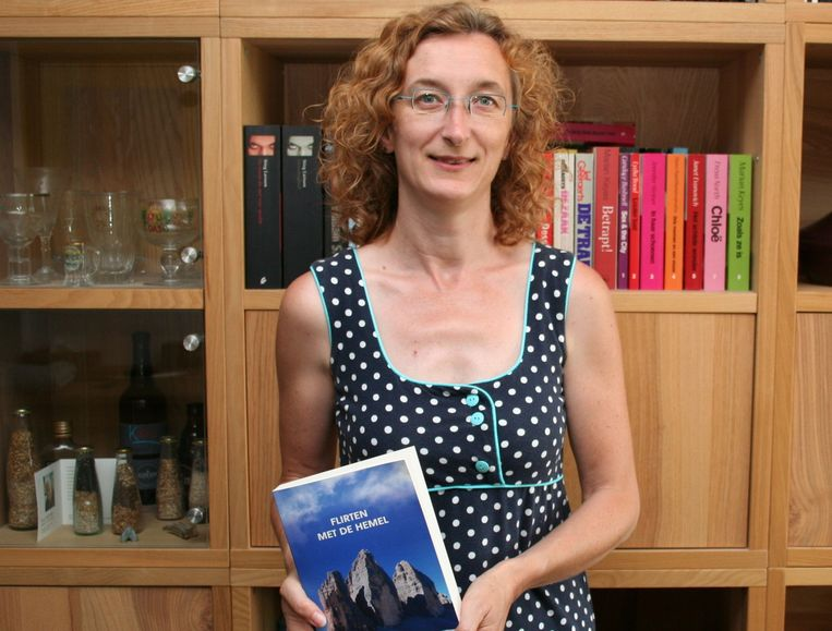 Kirsten De Coninck met haar eerste roman