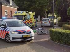 Fietser gewond bij aanrijding in Gendringen, traumahelikopter rukt uit