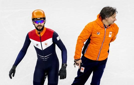 Sjinkie Knegt en Jeroen Otter.