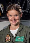 NH-90-pilote Valerie Verkeyn.