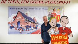"""De warmste vakantieplek van Vlaanderen, met stationschef van Heide-Kalmthout Jan Francken: """"Hele wachtzaal van station ademt Suske en Wiske"""""""