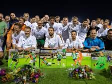 Sportclub Genemuiden eert oude helden met 1400 'caps' in de benen