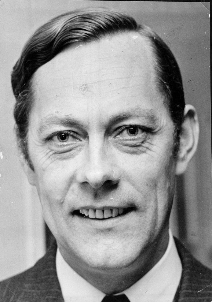 Jan Reijnen in de tijd dat hij burgemeester van Oldenzaal was.