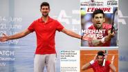 """Internationale pers laat geen spaander heel van Djokovic: """"Zijn besmetting is de 'bekroning' op een idiote week"""""""