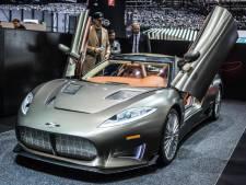 Exclusief automerk Spyker uit Zeewolde failliet