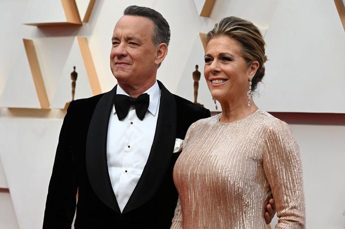 Tom Hanks et sa femme Rita Wilson