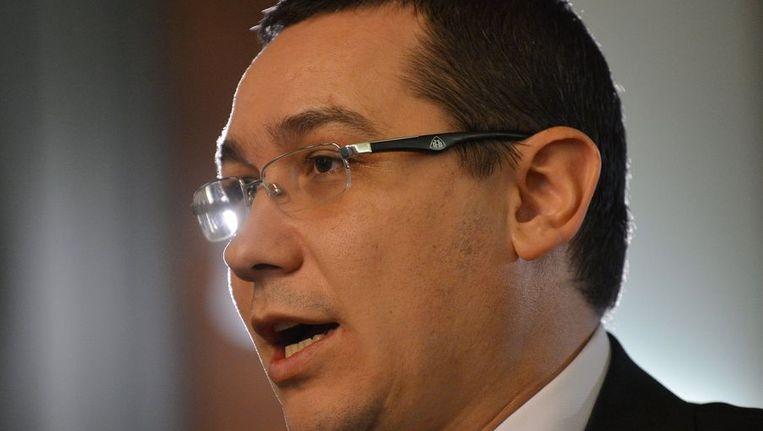 Victor Ponta Beeld afp
