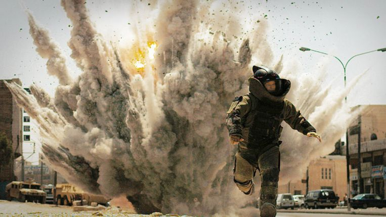 Guy Pearce in The Hurt Locker (Kathryn Bigelow, 2008). Beeld