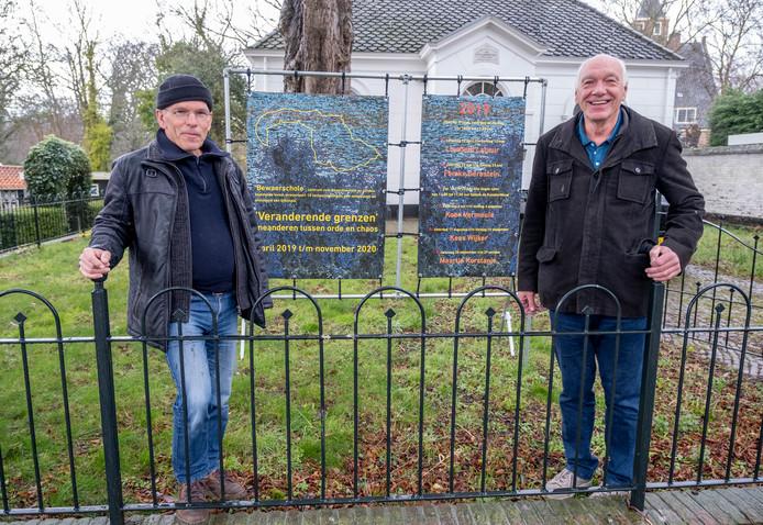 Bert Coenen (r) en Jan van Damme van de Bewaerschole in Burgh.