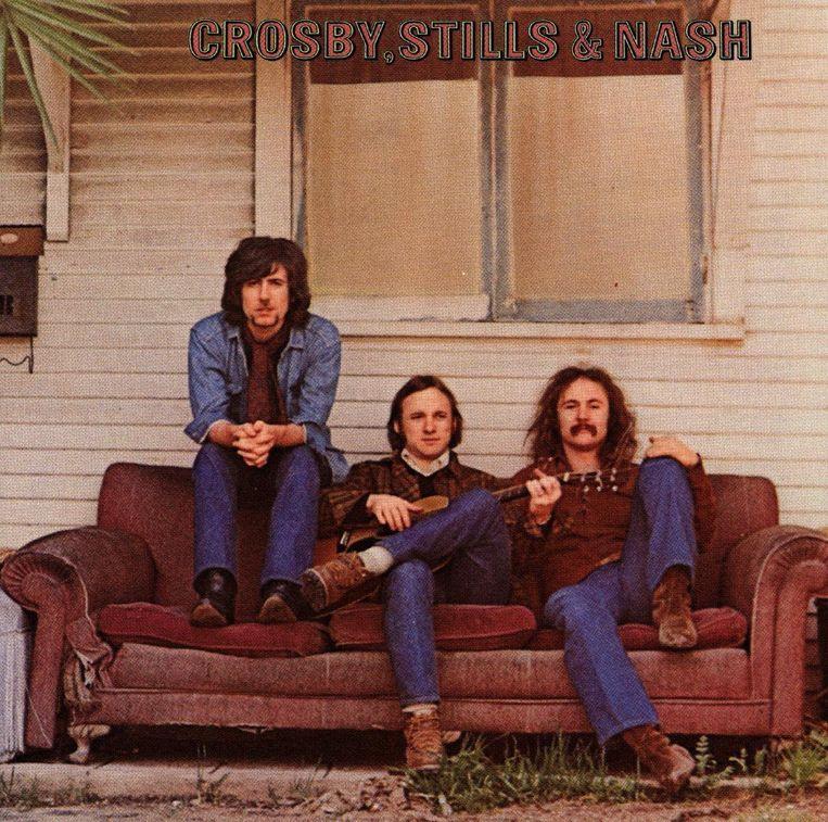 Het album Marrakesh Express van Crosby Stills & Nash. Beeld