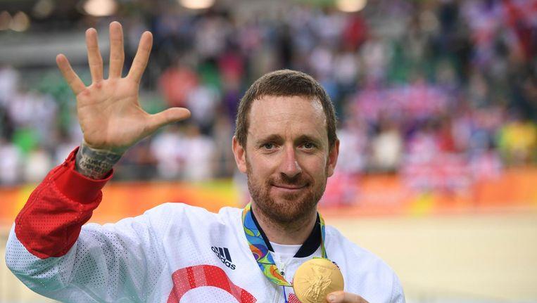 Bradley Wiggins op de Olympische Spelen van Rio Beeld anp