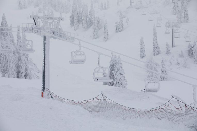 Een archiefbeeld van skigebied Hochkar in januari. Nu ligt er opnieuw een prachtig wit tapijt en is sneeuwpret komend weekend verzekerd.