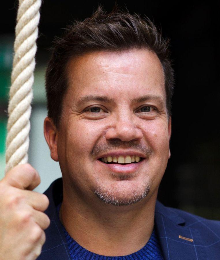 Bob van Oosterhout: 'Ik vind dat de Nederlandse sport en sporters zelf hun standpunten moeten innemen.' Beeld